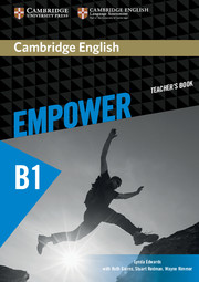 Cambridge English Empower Pre-intermediate Teacher's Book
