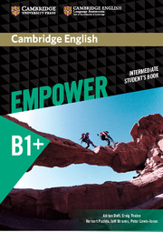 Cambridge English Empower Intermediate Student's Book
