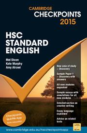 Cambridge Checkpoints HSC Standard English 2015