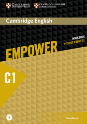 Cambridge English Empower Advanced Workbook without Answers with Downloadable Audio