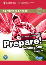 Cambridge English Prepare! Level 5 Workbook with Audio