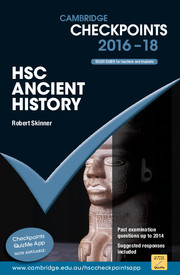 Cambridge Checkpoints HSC Ancient History 2016-18