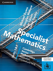 CSM VCE Specialist Mathematics Units 1 and 2