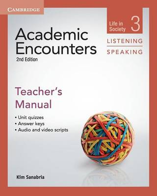 Academic Encounters Level 3 Teacher's Manual Listening and Speaking