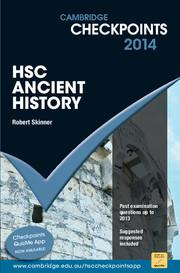 Cambridge Checkpoints HSC Ancient History 2014