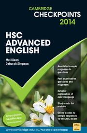 Cambridge Checkpoints HSC Advanced English 2014