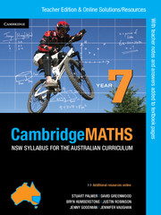 Cambridge Mathematics NSW Syllabus for the Australian Curriculum Year 7 Teacher Edition