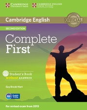 Complete First Student's Book without Answers with CD-ROM
