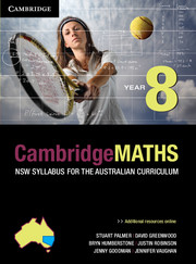 Cambridge Mathematics NSW Syllabus for the Australian Curriculum Year 8 and Hotmaths Bundle