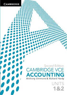 Cambridge VCE Accounting Units 1 and 2 2ed