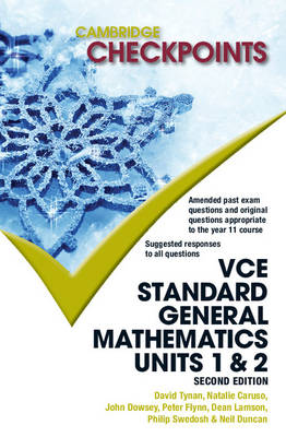 Cambridge Checkpoints VCE Standard General Mathematics