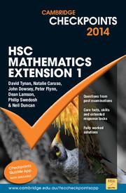 Cambridge Checkpoints HSC Mathematics Extension 1 2014-16