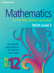 Mathematics for the New Zealand Curriculum Year 12