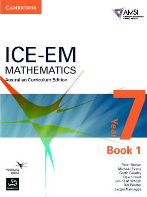 ICE-EM Mathematics Australian Curriculum Edition Year 7 Book 1