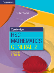 Cambridge HSC Mathematics General 2