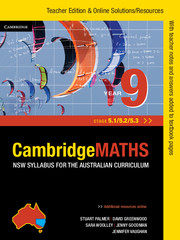 Cambridge Mathematics NSW Syllabus for the Australian Curriculum Year 9 5.1, 5.2 and 5.3 Teacher Edition