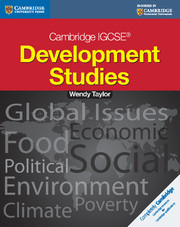 Cambridge IGCSE Development Studies Students book
