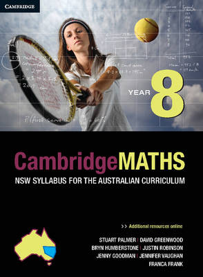 Cambridge Mathematics NSW Syllabus for the Australian Curriculum Year 8 Digital
