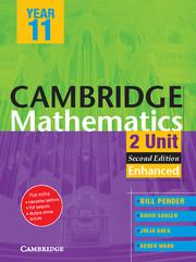 Cambridge 2 Unit Mathematics Year 11 Enhanced Version