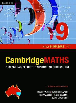 Cambridge Mathematics NSW Syllabus for the Australian Curriculum Year 9 5.1, 5.2 and 5.3 and Hotmaths Bundle