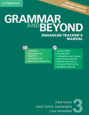 Grammar and Beyond Level 3 Enhanced Teacher's Manual with CD-ROM