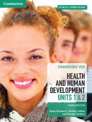 Cambridge VCE Health and Human Development Units 1 and 2