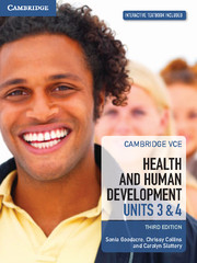 Cambridge VCE Health and Human Development Units 3 and 4