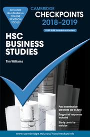 Cambridge Checkpoints HSC Business Studies 2018-19 and Quiz Me More