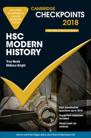 Cambridge Checkpoints HSC Modern History 2018 and Quiz Me More
