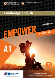 Cambridge English Empower Starter/A1 Student's Book with Online Assessment and Practice, and Online Workbook Idiomas Catolica Edition