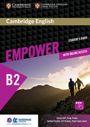 Cambridge English Empower Upper Intermediate/B2 Student's Book with Online Assessment and Practice, and Online Workbook Idiomas Catolica Edition