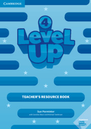 Level Up Level 4 Teacher's Resource Book with Online Audio