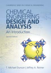 Chemical Engineering Design and Analysis