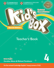 Kid's Box Updated Level 4 Teacher's Book Turkey Special Edition