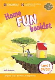 Home Fun Niveau 1 - CP/CE1 Booklet Édition Française