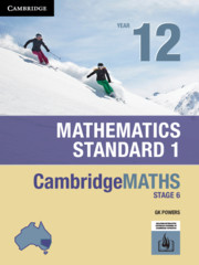 Cambridge Maths Stage 6 NSW Standard 1 Year 12