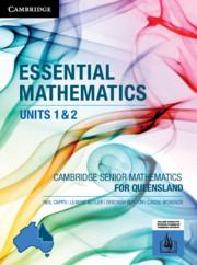 CSM QLD Essential Mathematics Units 1 and 2