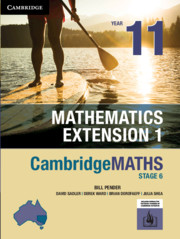 Cambridge Maths Stage 6 NSW Extension 1 Year 11