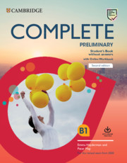 Complete Preliminary Student's Book without Answers with Online Workbook