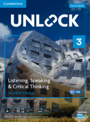 Unlock Level 3 Listening, Speaking & Critical Thinking Student's Book, Mob App and Online Workbook w/ Downloadable Audio and Video