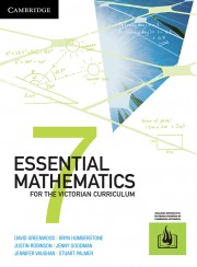 Essential Mathematics for the Victorian Curriculum Year 7 (interactive textbook powered by Cambridge HOTmaths)