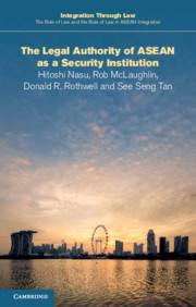 The Legal Authority of ASEAN as a Security Institution