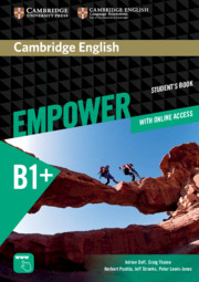 Cambridge English Empower Intermediate Student's Book Pack with Online Access, Academic Skills and Reading Plus