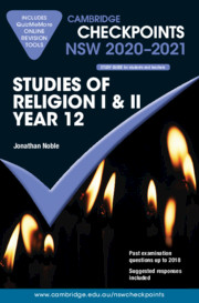 Cambridge Checkpoints NSW Studies of Religion 1 and 2 Year 12 2020-2021
