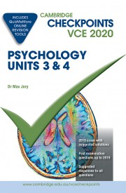 Cambridge Checkpoints VCE Psychology Units 3&4 2020