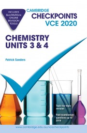 Cambridge Checkpoints VCE Chemistry Units 3&4 2020