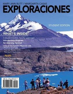 Student Activities Manual and CourseMate for Blitt/Casas' Exploraciones