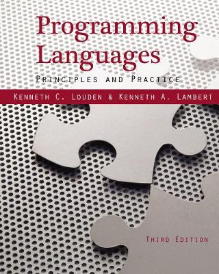 Programming Languages : Principles and Practices