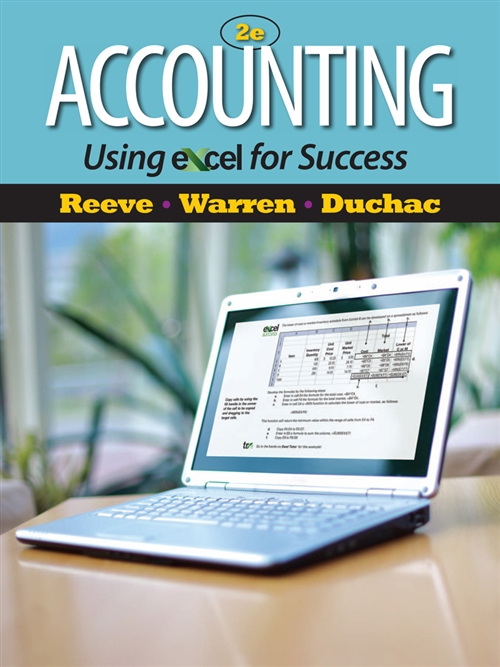 Accounting Using Excel� for Success (with Essential Resources Excel Tutorials Printed Access Card)