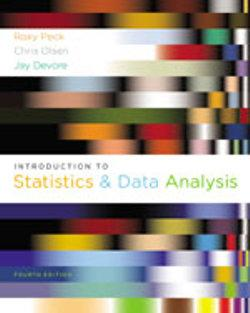 Bundle: Introduction to Statistics and Data Analysis, 4th + Statistics CourseMate with eBook Printed Access Card
